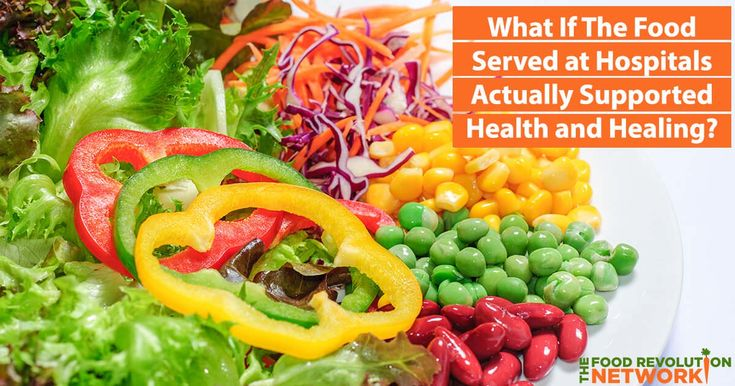Wonder why hospital food is so bad? Could the future of hospital food actually be good for you and taste good, too?