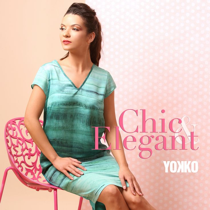 The color of your summer SUMMER 17   YOKKO #color #summer #dress #blouse #pants #skirts #fashion #style #summer17 #yokko #women