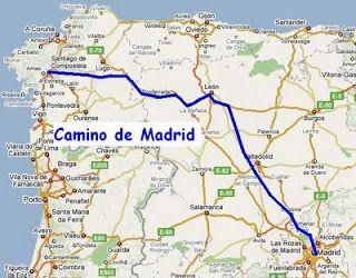 Camino de santiago cofrades el camino madrile o i - St jean pied de port to santiago distance ...