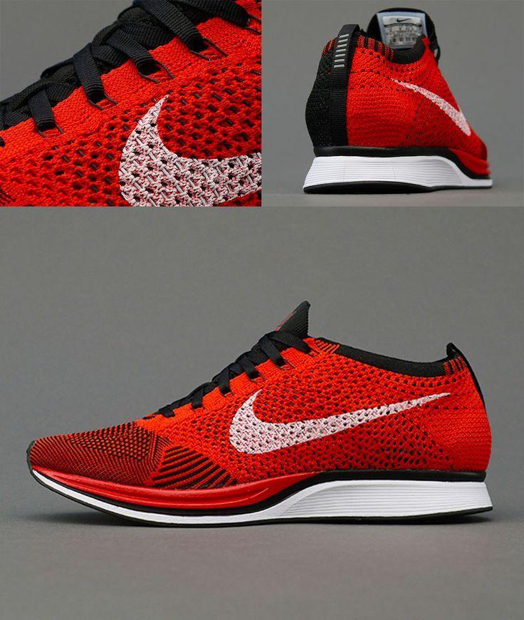 Nike Flyknit Racer Red Black http://hypespec.com/nike-flyknit-racer-redblack/