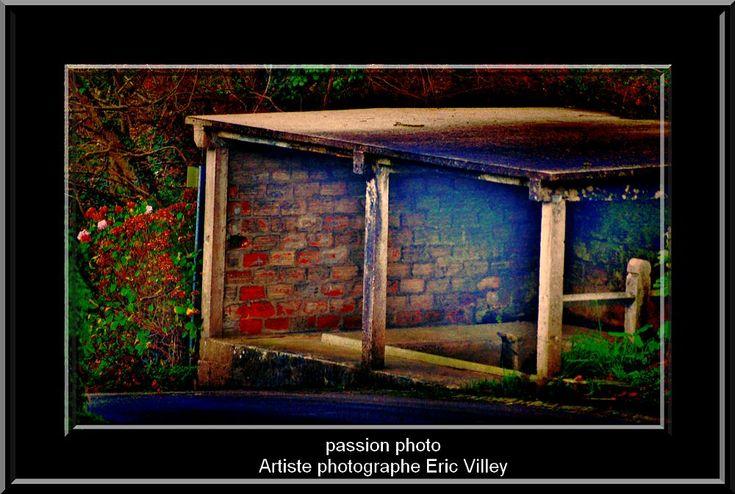 Ancien lavoir by Artiste photographe -ERIC VILLEY
