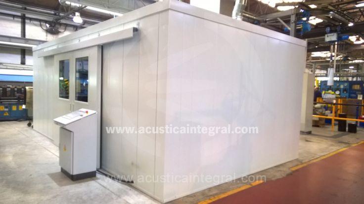 Acustica Integral propose un ensemble de capotages acoustiques et de cabines phoniques insonorisés.