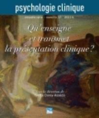 Psychologie Clinique 2011/1