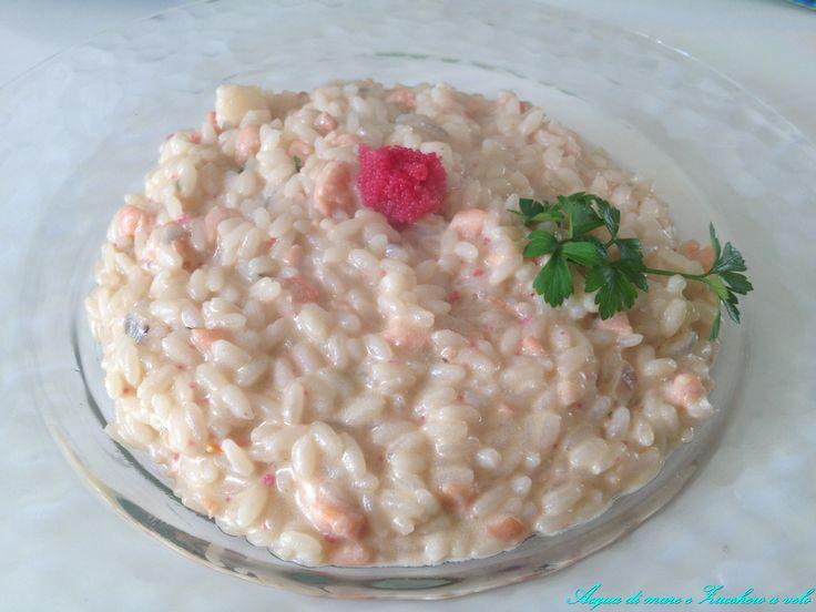 Il Risotto Imperiale è un raffinato primo di pesce dal sapore allo stesso tempo deciso e delicato. Un piatto che mette tutti d'accordo!