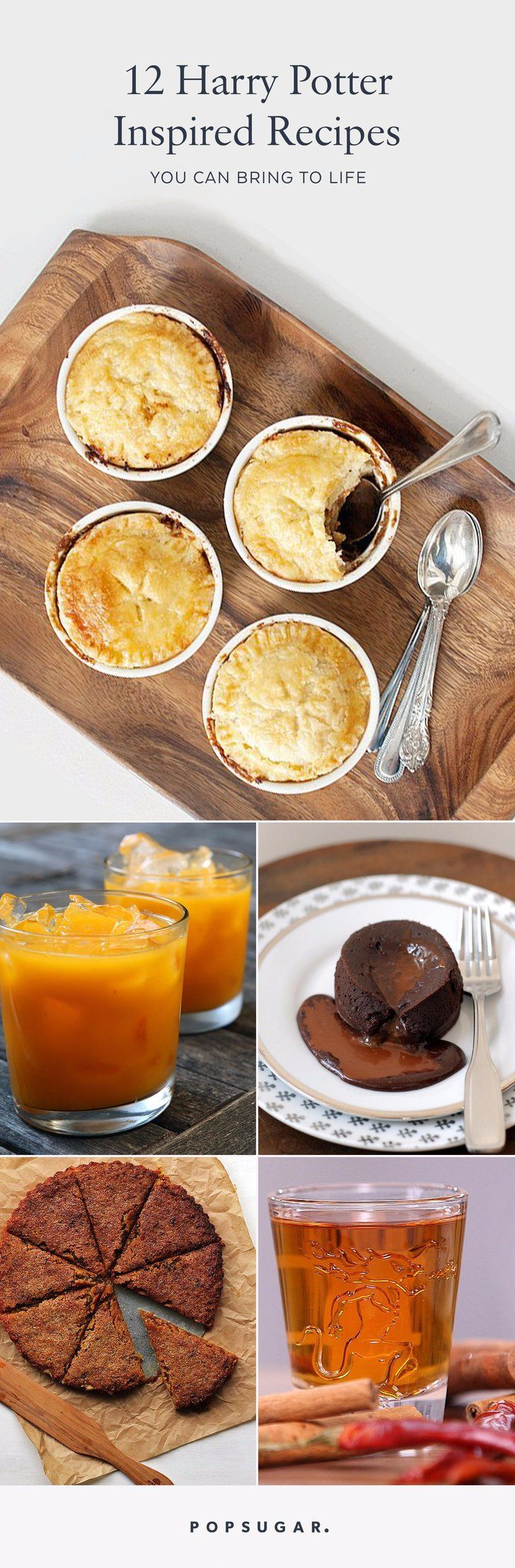 12 Harry Potter-Inspired Recipes You Can Bring to Life