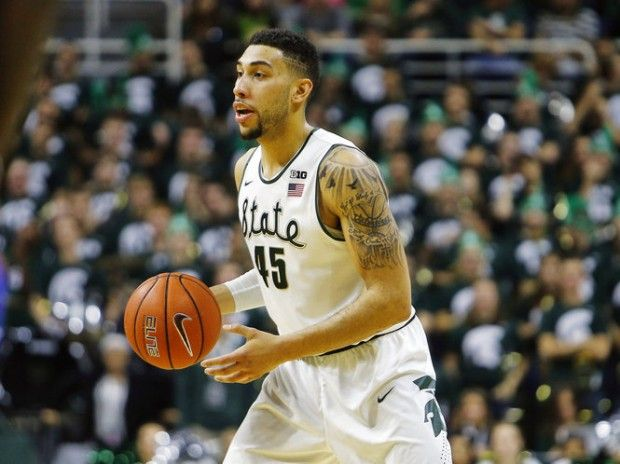 On an off night for Denzel Valentine, Michigan State's supporting cast steps up.