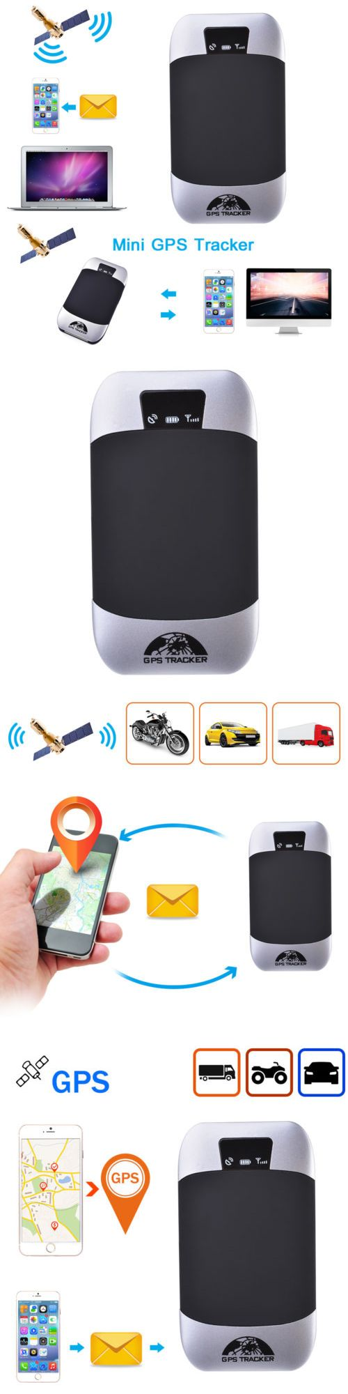 Tracking devices vehicle gsm gprs gps tracker car tracking locator device w microphone ma1014