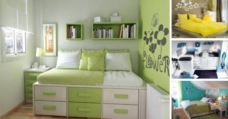 33 krásnych riešení pre malé spálne!