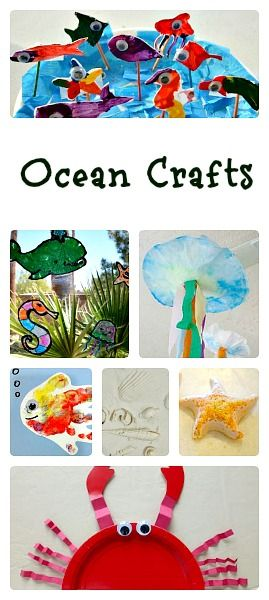 Ocean Crafts for Kids. {Fantastic Fun and Learning}