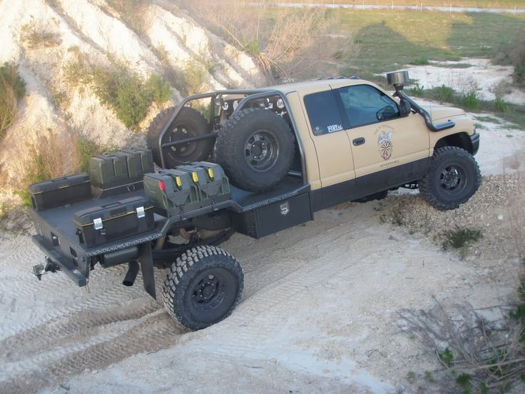 Building a flatbed that doesn't look like a flatbed - Pirate4x4.Com : 4x4 and Off-Road Forum