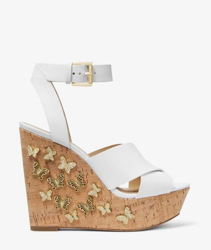 Michael Kors butterfly wedges   Wedges