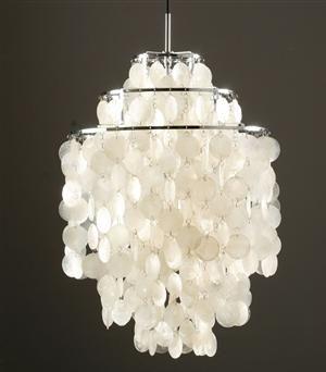 FUN 1 DM chandelier by Verner Panton.