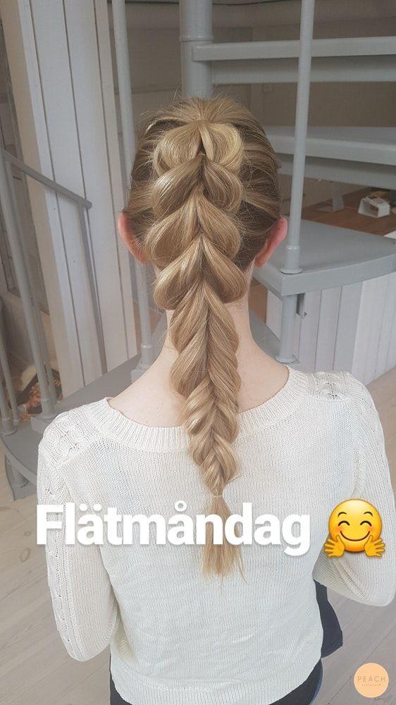 Braided ponytail! :)