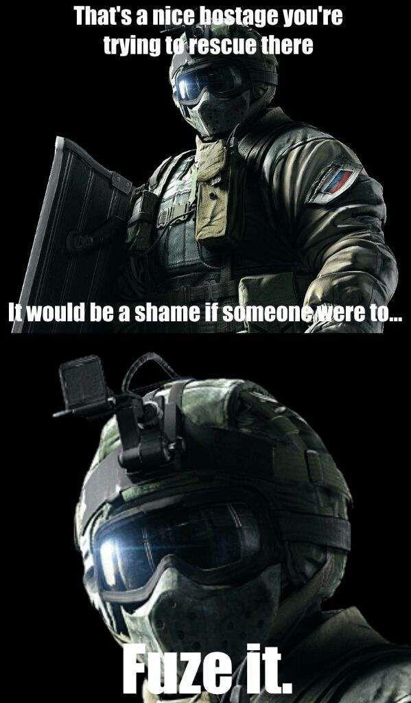Top 10 Rainbow Six Siege Memes With Images Rainbow Six Siege