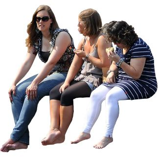 People Sitting http://www.immediateentourage.com/wp-content/uploads/2011/12/Women%2BSitting%2Bon%2BPier%2Bby%2BFaceMePLS.png