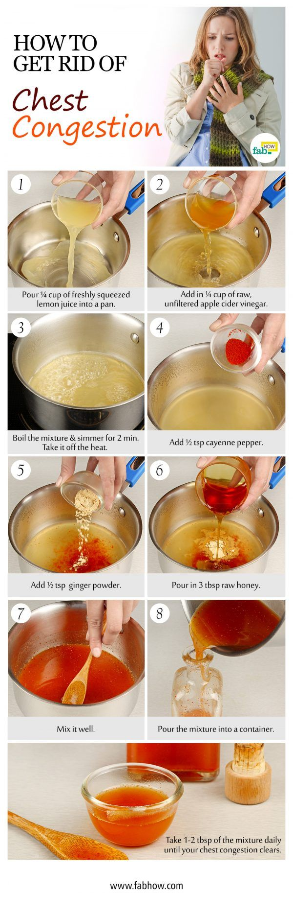 Best 25 natural cold remedies ideas on pinterest cold remedies get rid of chest congestion with natural remedies ccuart Image collections