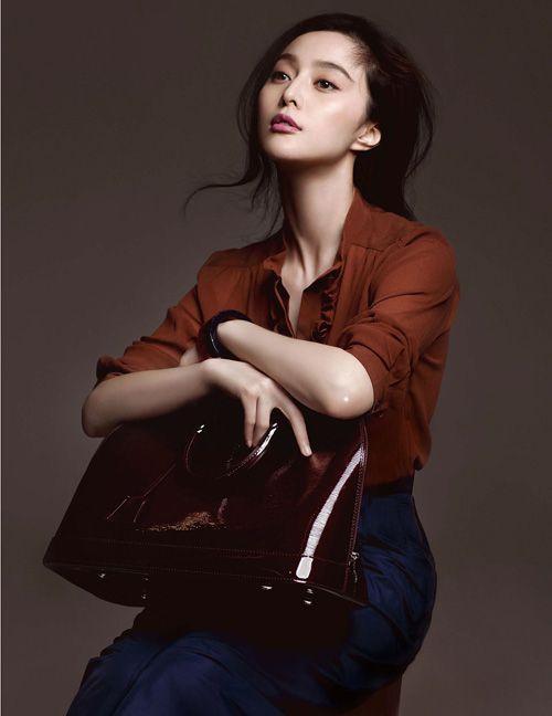 Fan Bing Bing for Louis Vuitton Alma Bag - 空白杂志 NONZEN.com