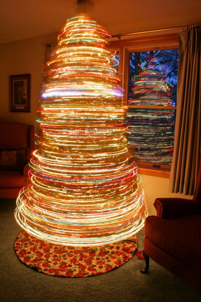 Psychedelic Christmas Tress