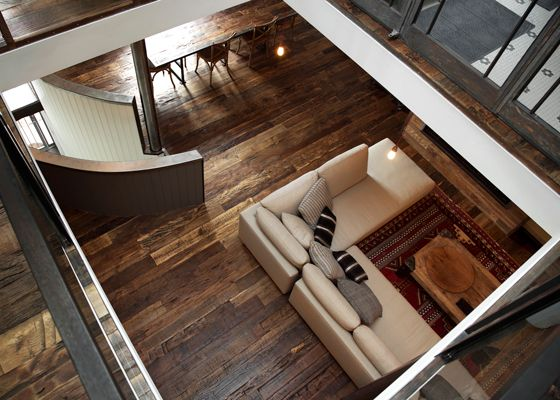 Recycled French Oak Flooring
