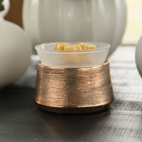 ETCHED COPPER SCENTSY WARMER ELEMENT NEW for Scentsy Fall Winter 2016. Available…