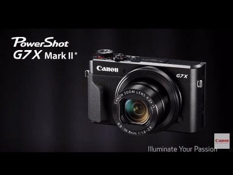 Canon Powershot G7x Mark II | Cameras Direct Australia