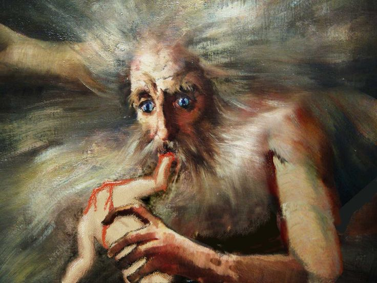 Cronus Inspired By Goya Quot Cronus Eating His