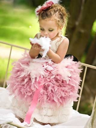 this has flower girl written all over it..so sassy :)