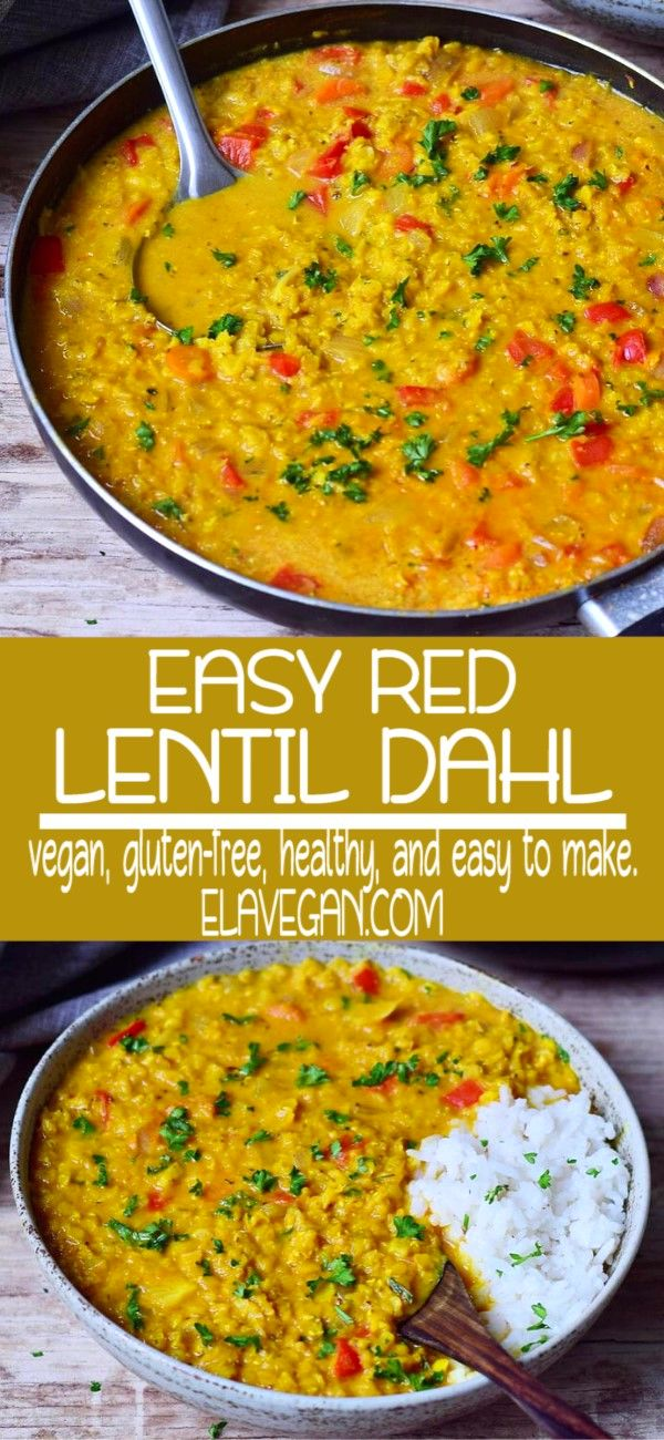 Easy Red Lentil Dahl