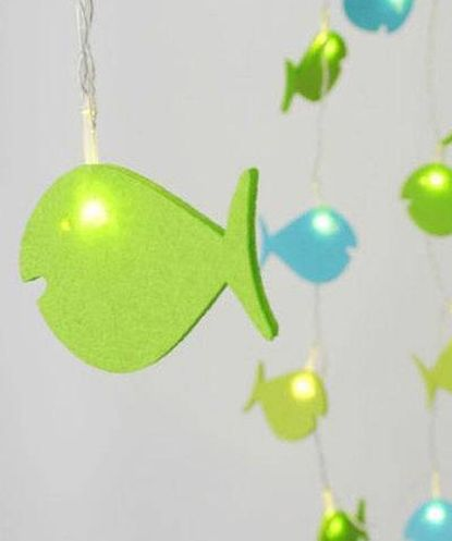 Create an aura in and around your house and add richness to your spaces with fashionandyou.com as it brings to you this delightful range of home accessories. Let creativity break all boundaries and guide your way of living with these fascinating home utilities!CATEGORY: Cute Fish LightCOLOUR: Green and BlueMATERIAL: Felt and PVCDIMENSIONS: Length- 5 metersPRODUCT CODE: MGB337DELIVERY: We know what you need! That is the reason our products are sourced from different locations across India to…