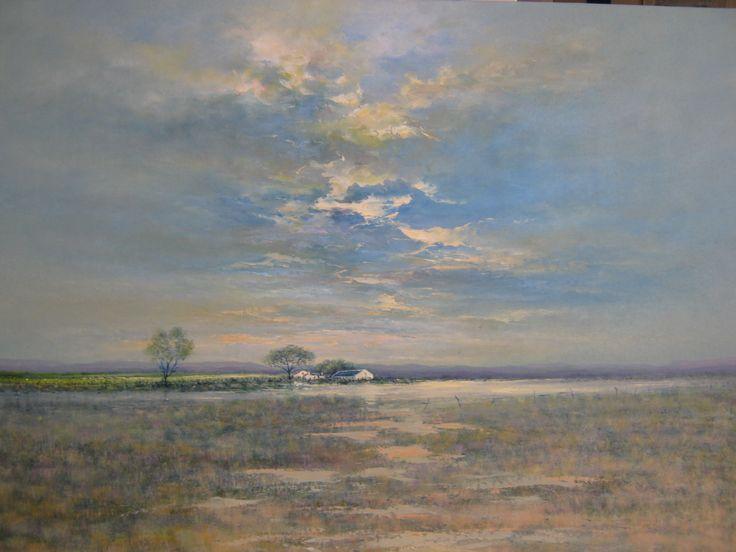 Karoo R14500 Oil on canvas board