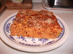 Ross il-forn (baked rice)   i love maltese food