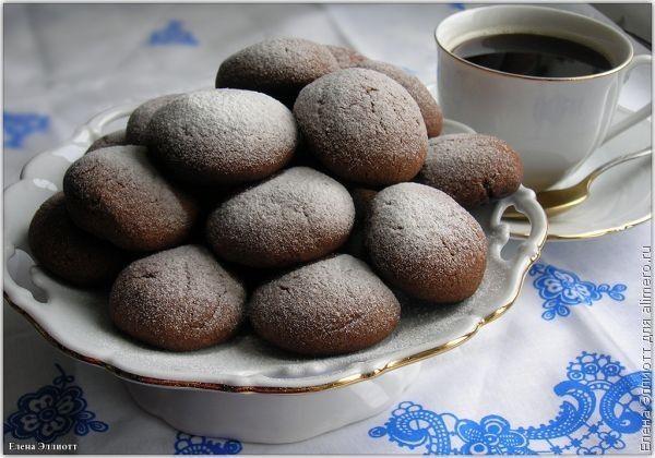 Кофейное печенье / Рецепты с фото