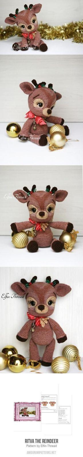 Ritva the Reindeer amigurumi pattern