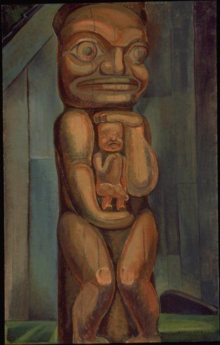 emily carr   totem mother