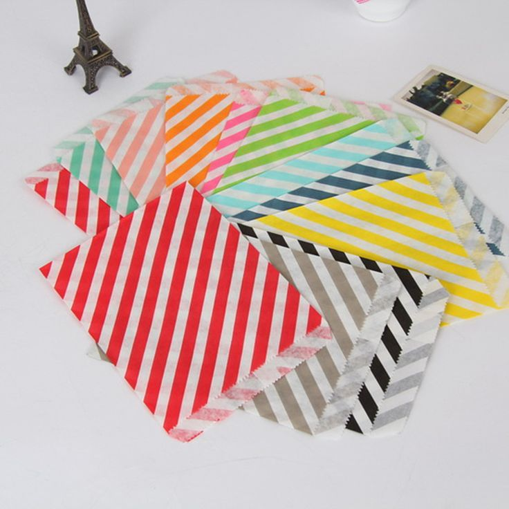 25pcs Stripes greaseproof craft paper gift bags food gift packaging candy bread paper bags party supplies #clothing,#shoes,#jewelry,#women,#men,#hats,#watches,#belts,#fashion,#style