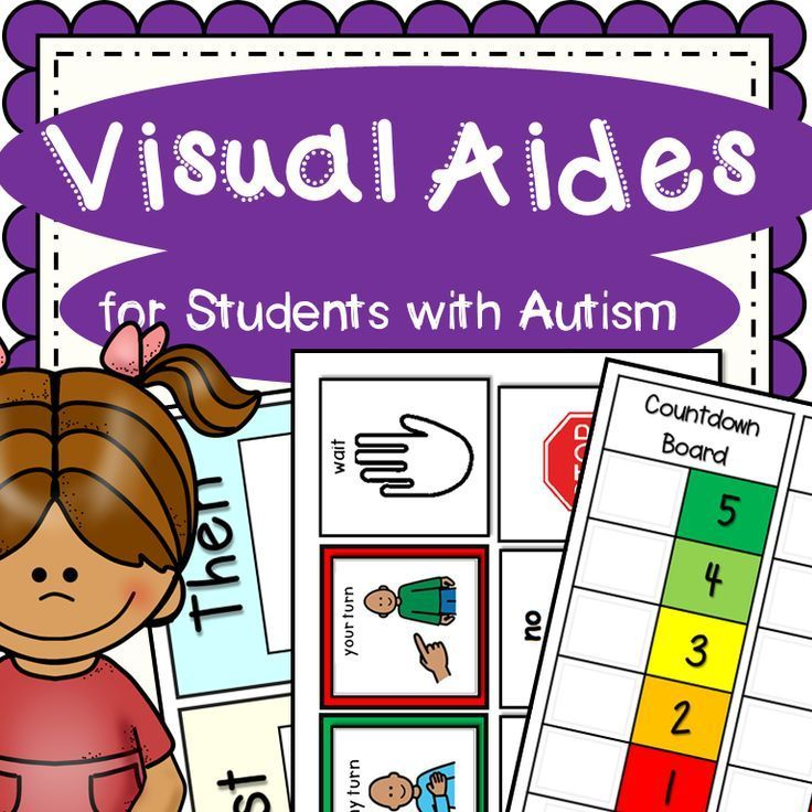 Visual Aides for Students with Autism and other special needs is a great resource for those visual cues for students on the spectrum or other related disabilities. Just print, laminate and cut out.  5 different First - Then Charts If I do, Then I lose... chart 2 different countdown boards 2 different blank token boards Visual Schedule template AM and PM Student expectation visual aides