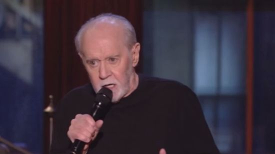 Comedian George Carlin's Notes Will Be Donated to the National Comedy Center
