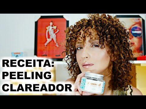 Peeling Clareador Caseiro POTENTE com Argila Rhassoul e Óleos Essenciais | Karina Viega - YouTube