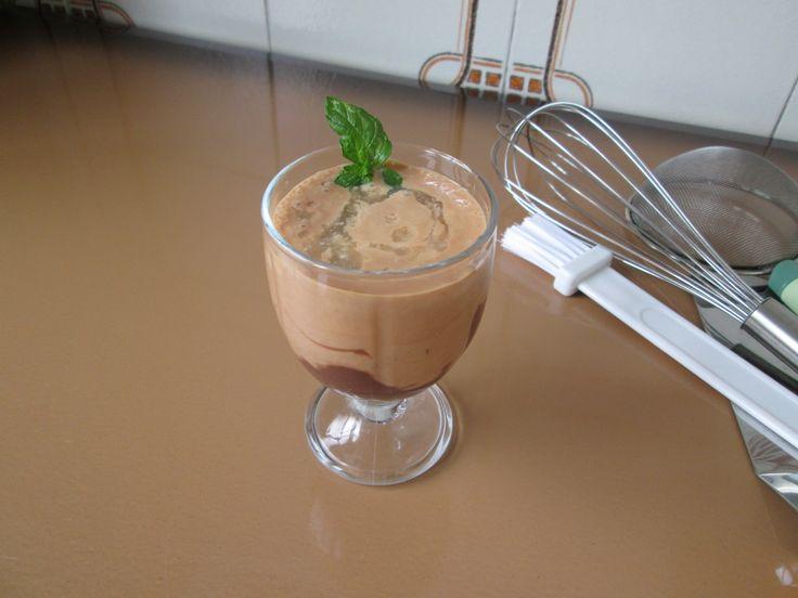 Frullato  prugne   e cioccolato Gino D'Aquino