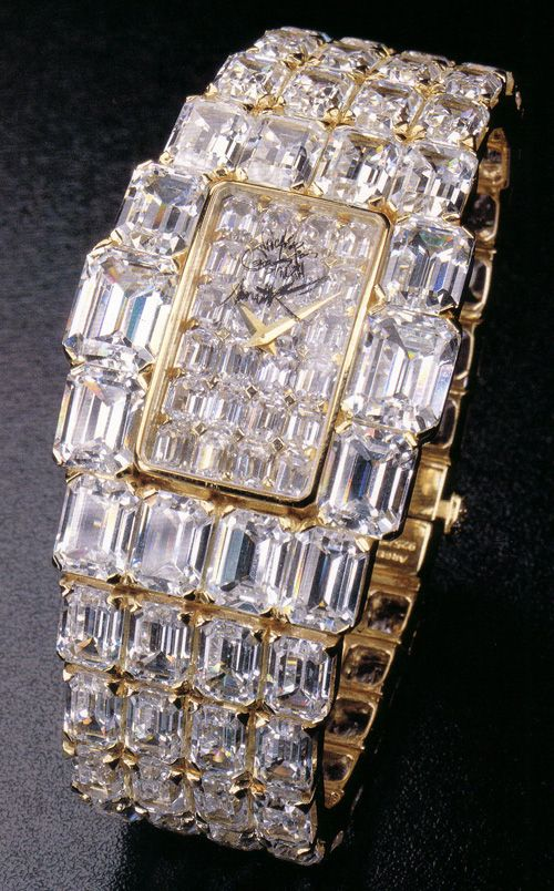 "most expensive watches for ladies | Ladies watch of Vacheron Constantin from the line ""Lady Kalla ..."