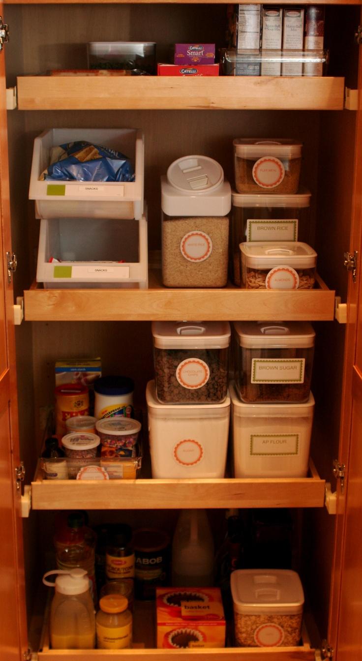 124 best organizing pantry closet images on pinterest pantry