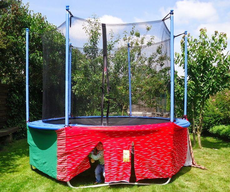 les 25 meilleures id es de la cat gorie tente trampoline sur pinterest trampoline recycl lit. Black Bedroom Furniture Sets. Home Design Ideas