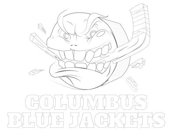 Mejores 30 imágenes de NHL Coloring Sheets en Pinterest | Hockey ...