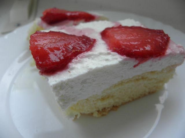 sugarfreecakes: Sugar free Sponge Cake with Mascarpone and Fruit