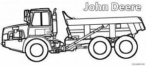 john deere construction coloring pages - photo#41