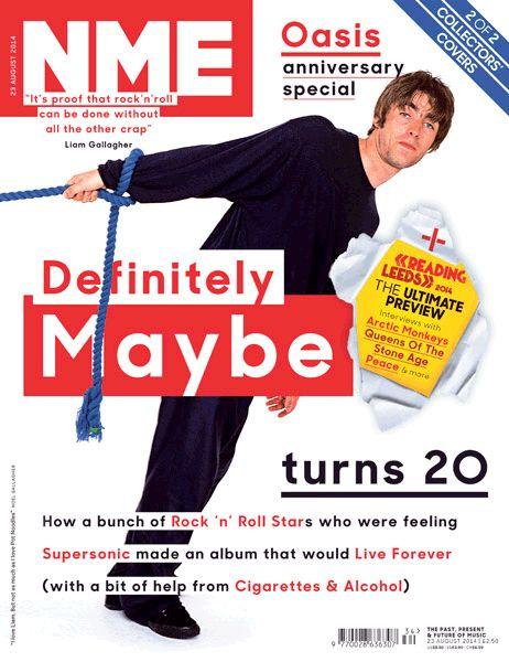 Oasis, 'Definitely Maybe', 23 August 2014
