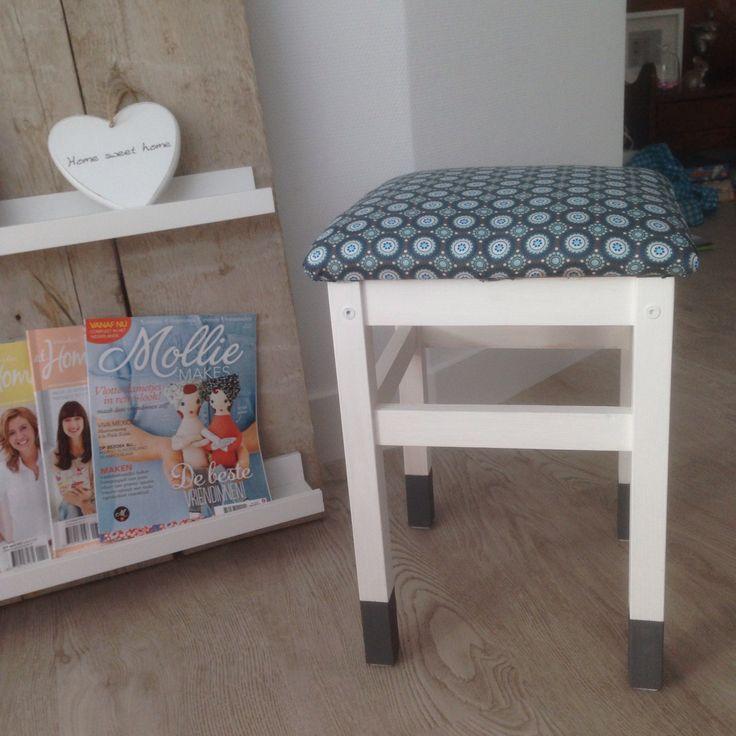 Ikea krukje pimpen! tantesetje.blogspot.nl