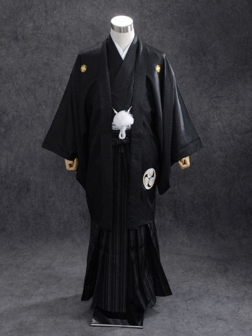 """All-Black Attire for Men 