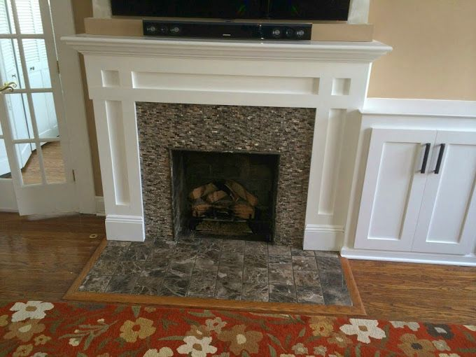 Lighter Mantel Fireplace Pinterest Fireplaces