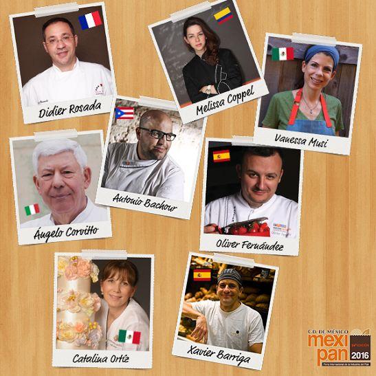 11 cursos, 8 chefs de talla internacional y tú, aprendiendo con los mejores. http://www.mexipan.com.mx #Mexipan2016 #Mexipan #Chef #Curso #MasterChef #ChefTable #Expo #WTC #México